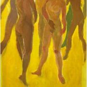 7-Bayang Bayang II, 2008 RM 10,450.00-SOLD   Acrylic on canvas   36 x 26 cm