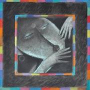 10-Dancer I, 1993 RM 30,800.00-SOLD | Oil on canvas | 90 x 90cm