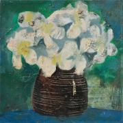 11-Still Life I, 1979 RM 5,500.00-SOLD | Oil on canvas| 30 x 30 cm