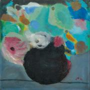 14-Still Life II, 1982 RM 5,940.00-SOLD | Oil on canvas | 30 x 30 cm