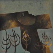 20-RM 31,360 Wind Dance, 2003 Oil on canvas, 80 x 80 cm