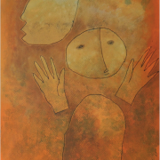 6-Innocence Series, 1990 RM 8,250.00-SOLD | Mixed media on paper | 61 x 43 cm