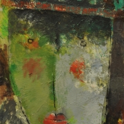 7-Portrait of a Girl, 2006 RM 6,050.00-SOLD | Oil on canvas | 30.5 x 23 cm