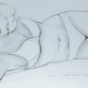 7-Bodyline, 2008 RM 2,200.00-SOLD | Charcoal on paper | 52 x 74 cm