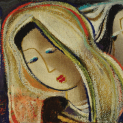 16-RM 3,360 Untitled, 1994 Pastel on paper 19.5 x 56.5 cm