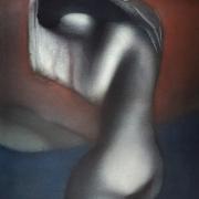 Lee Long Looi, Night 1984 Watercolour 50 x 38 cm