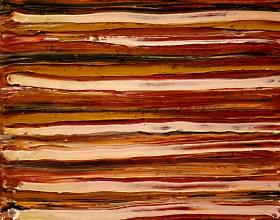 55-Yusof Majid. Sea Sand I, 2002. 24cm x 24cm. Acrylic on Canvas
