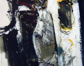 4-Awang Damit Ahmad. E.O.C Kemudi, 1992. Mixed on canvas. 57 x 76 cm