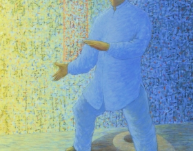 6-Choong Kam Kaw. Fit for Life 20 (Taiji) 2010. Acrylic on Canvas. 94cm x 74cm