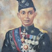 3-Tan Sri Nik Ahmad Kamil- the Second Menteri Besar of Kelantan, 1955 RM 44,000.00-SOLD | Oil on canvas | 60 x 54 cm