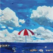 2-Waiting for the Rain, 2010 RM 6,000.00 - RM 7,500.00 | Oil on canvas | 142 x 122 cm