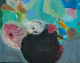 "23-Khoo Sui Hoe ""Still Life II"" (1979) 30cm x 30cm"