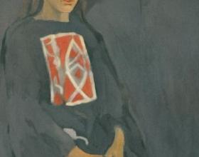 26-Khalil Ibrahim, Portrait of Jane. 1964 Oil on Canvas 69 cm x 50.5 cm