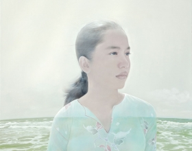 33-Kow Leong Kiang, Transience. 2011 SOLD Oil on Canvas 120 cm x 120