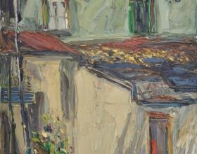 40-Peter Liew, Hutton Lane I. 2012 Oil on Canvas 122 cm x 92 cm