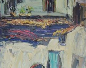 41-Peter Liew, Hutton Lane I. 2012 Oil on Canvas 122 cm x 92 cm