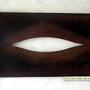 1-Torn In Two, 2003 RM 7,700.00-SOLD | Lasercut mild steel | 66 x 120 x 4.5 cm