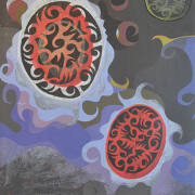 """1-Transition 01"""":05 (02), 2005 RM 3,300.00-SOLD   Oil on canvas   51 x 39 cm"""