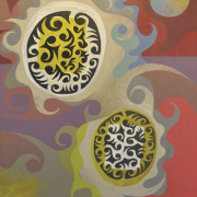 """2-Transition 01"""":05 (01), 2005 RM 3,080.00-SOLD   Oil on canvas   51 x 39 cm"""
