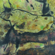 3-Secluded, 2009 RM 4,400.00-SOLD | Mixed media on canvas | 92 x 122 cm