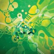 13-EarthScape Series Flora & Fauna, 2013 RM 3,300.00-SOLD | Acrylic on canvas | 153 x 153 cm