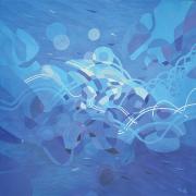 85-Nik-Rafin,-2012,-Acrylic-on-canvas,-152-x-152cm