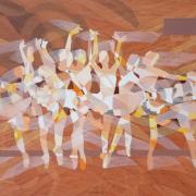 9-NIK-RAFIN-_THE-BALLET-DANCERS_-(2014)-120cm-x-183cm--Acrylic-on-Canvas