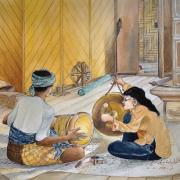 14-Nik-Zainal-Abidin,-1978,-Watercolour-on-paper,-38-x-43.5cm