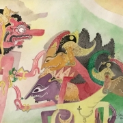Lot-28-Nik-Zainal-Abidin-Rejection-1992-watercolour-on-paper-36-x-54-cm