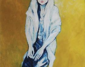 14-Hesti, 2004 150cm X 120cm Oil On Canvas