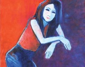 2-Bebi 2011 90cm x 100cm Oil On Canvas