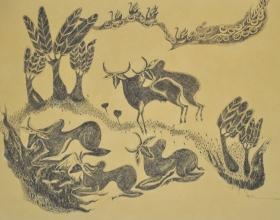 36-Untitled, 1999. Pen & Ink on Paper, 36cm x 54cm