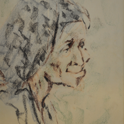 3-Untitled, 1967 RM 1,232.00-SOLD | Pastel on paper 33.5 x 24 cm