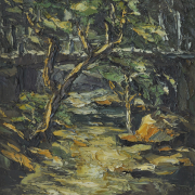 "5-RM 11,000.00-SOLD Peter Liew ""Templer's Park"" (1989) Oil on canvas 61 x 51 cm RM 12,000 - RM 18,000"