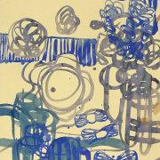 Rafie-Ghani-Still-Life-Study-In-Blue-2010-Watercolour-on-paper-91-x-61cm-cm-scaled