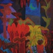 Rafiee-Ghani-22Lee-Jardin-II22-1992-Acrylic-on-canvas-101.6-x-91.4cm