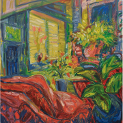 10-Morning Light, 1993 RM 18,150.00-SOLD   Oil on canvas   113 x 100 cm