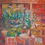 15-Sunset Room, 1993 RM 14,300.00-SOLD   Oil on canvas   91 x 100 cm