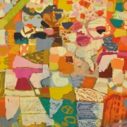 16-Pink Nasi Lemak, 2004 RM 16,500.00-SOLD   Oil on canvas   112 x 142.5 cm