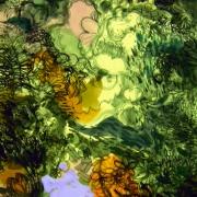 17-Gunung Semanggol, 2010 RM 13,200.00-SOLD   Acrilic on canvas   44 x 69 cm