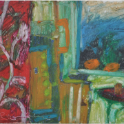7-Morning Light, 1993 RM 3,300.00-SOLD   Oil on canvas   25 x 35.5 cm