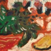 Rafiee Ghani, Untitled Oil on canvas 20.3 x 25.4 cm