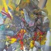30-RM 7,280.00-SOLD RSA Foliage, 2012, 90 x 60 cm, Acrylic on canvas