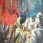 37-rm 16,800 RSA Moon Over Crab Junction, 2007 180 x 120 cm