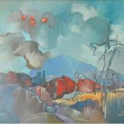 1-Serembu, 1991 RM 9,900.00-SOLD | Oil on canvas | 51 x 61 cm