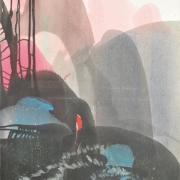 14-Garden In The Sky, 2008 RM 4,950.00-SOLD | Acrilic on canvas | 88 x 58 cm