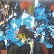 23-Forest Flair II, 2012 RM 6,050.00-SOLD | Acrylic on canvas | 90 x 119 cm