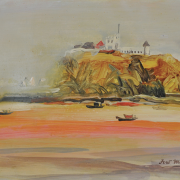 7-Fort Margherita, 2006 RM 6,600.00-SOLD | Oil on canvas | 30.5 x 45.7 cm