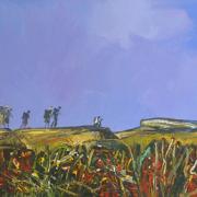 9-RM 16,500.00-SOLD Raphael Scott Ah Beng,2011, Homeward Bound, 59.5cmx119cm