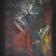 Raphael Scott Ahbeng _Home of Pigeons_ (2013) Acrylic on canvas 120cm x 90cm